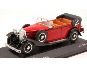 White Box WB058 MAYBACH DS 8 ZEPPELIN CABRIOLET 1930 RED/BLACK 1:43 Modellino
