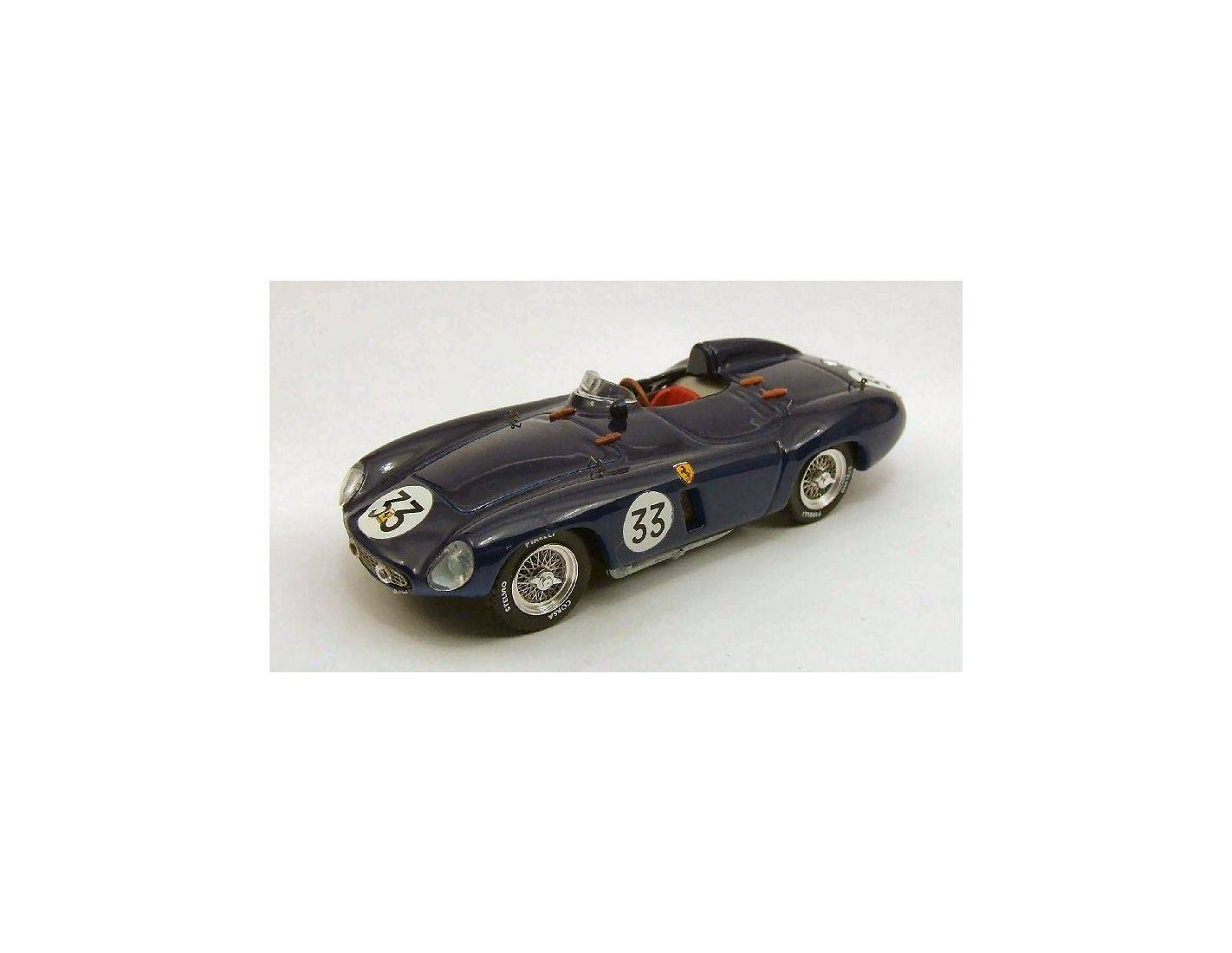 Art Model AM0222 FERRARI 500 MONDIAL N.33 8th S.BARBARA 1954 P.RUBIROSA 1:43 Modellino