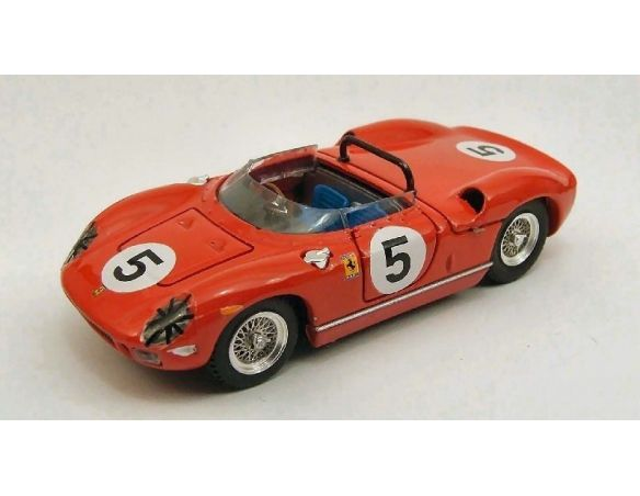 Art Model AM0225 FERRARI 250 P N.5 WINNER GP CANADA MOSPORT 1963 P.RODRIGUEZ 1:43 Modellino