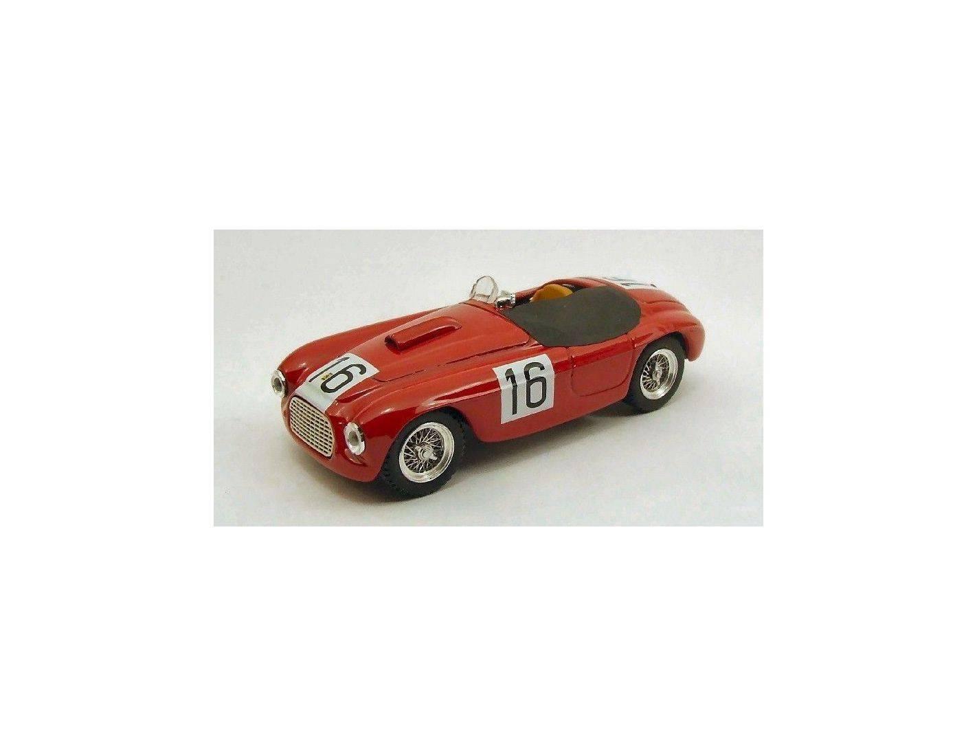 Art Model AM0227 FERRARI 166 SPYDER N.16 WINNER 12H PARIGI 1950 CHINETTI-LUCAS 1:43 Modellino