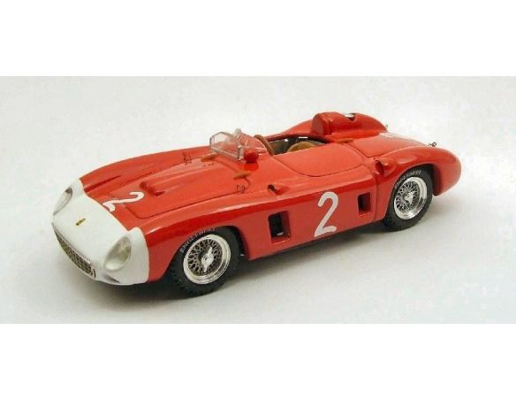 Art Model AM0228 FERRARI 860 MONZA N.2 WINNER GP ROUEN 1956 E.CASTELLOTTI 1:43 Modellino