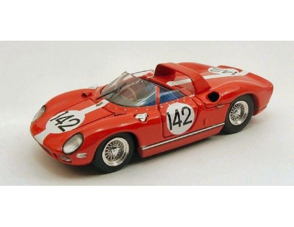 Art Model AM0229 FERRARI 275 P N.142 DQ ILLEGAL REFUEL NURBURGRING 1964 HILL-IRELAND 1:43 Modellino
