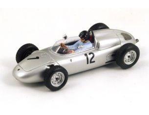 Spark Model S1865 PORSCHE 718 D.GURNEY 1961 N.12 2nd FRENCH GP 1:43 Modellino