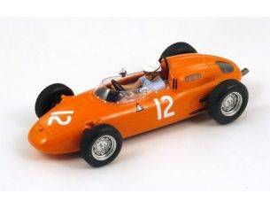 Spark Model S1866 PORSCHE 718 C.GODIN DE BEAUFORT 1963 N.12 6th US GP 1:43 Modellino