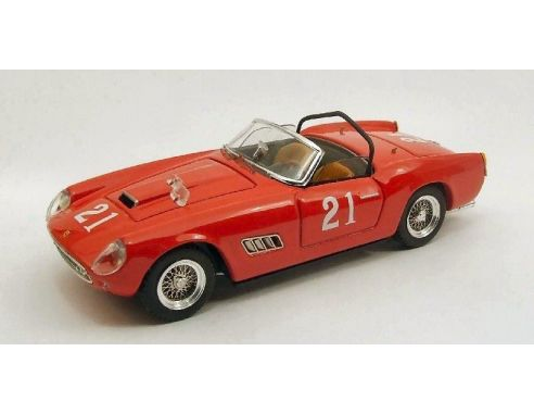 Art Model AM0234 FERRARI 250 CALIFORNIA N.21 14th NASSAU TROPHY 1960 W.VON TRIPS 1:43 Modellino