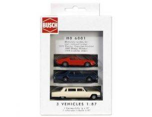 BUSCH 6001/A PONTIAC DODGE MONACO CADILLAC LIMOUSINE HO Modellino