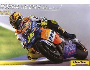 Heller HL80910 HONDA MOTO GP V.ROSSI '02 KIT 1:12 Modellino