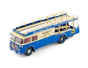 CMC CMC097 FIAT 642 RN 2 BARTOLETTI MASERATI TRANSPORTER 1957 1:18 Modellino