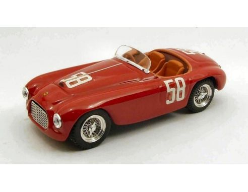 Art Model AM0242 FERRARI 212 MM N.58 TARGA FLORIO 1951 STAGNOLI-RESTELLI 1:43 Modellino