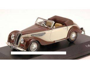 White Box WB087 BMW 327 1939 BROWN/BEIGE 1:43 Modellino