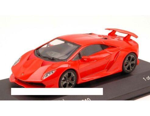 White Box Wb054 Lamborghini Sesto Elemento 2010 Red Orange 1 43