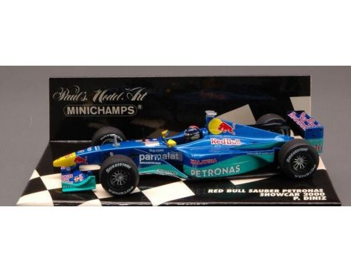 Minichamps PM430000086 RED BULL SAUBER DINIZ'00 SHOWC.1:43 Modellino