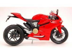 Maisto MI11108R DUCATI 1199 PANIGALE 2012 RED 1:12 Modellino