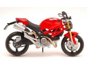 Maisto MI10012R DUCATI MONSTER 696 RED 1:12 Modellino