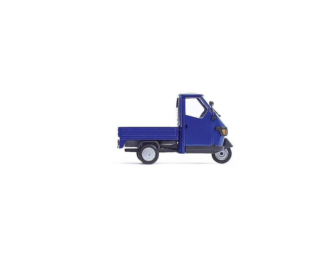 Busch 60002 ape piaggio 50 blue modellino for Modellino ape piaggio