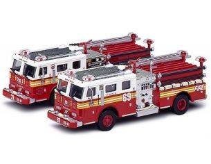 Code3 COD12208 FIRE RESCUE NEW YORK 1:64 Pz.2 Modellino