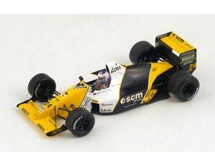 Spark Model S4111 MINARDI L.PEREZ-SALA 1989 N.24 6th BRITISH GP 1:43 Modellino
