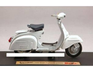 Maisto MI5082W VESPA 125 GRAN TURISMO 1966 WHITE 1:18 Modellino