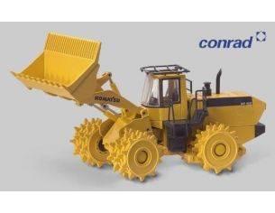 Conrad 2437 KOMATSU WF450-3 COMPACTOR 1/50 Modellino