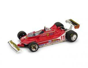 Brumm BM0511 FERRARI 312 T4 J.SCHECKTER 1979 N.11 WINNER ITALY GP 1:43 Modellino