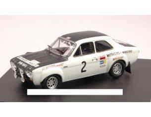 Trofeu TF0547 FORD ESCORT RS 1600 N.2 WINNER MANX RALLY 1971 CLARK-LIDDON 1:43 Modellino