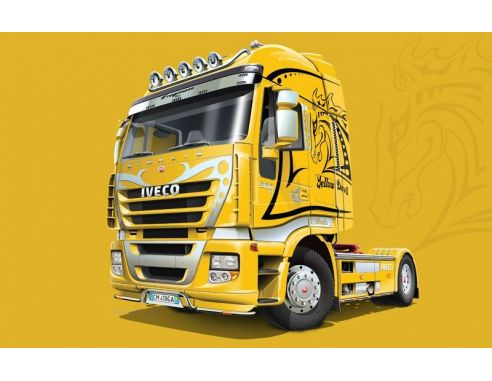 Italeri IT3898 IVECO STRALIS YELLOW DEVIL KIT 1:24 Modellino
