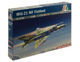 Italeri IT2715 MIG-21 MF FISHBED KIT 1:48 Modellino