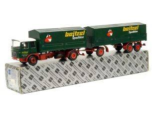 Conrad 3111 MAN DIESEL VAN 'DB' AND TRAILER 1/50 Automezzo 1/50