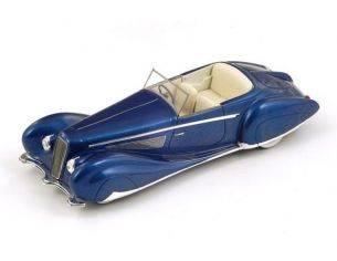 Spark Model S2722 DELAGE D8-120 FIGONI & FALASCHI 1939 METALLIC BLUE 1:43 Modellino