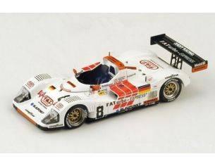 Spark Model S4179 PORSCHE T.W.R. WSC N.8 26th LM 1996 ALBORETO-MARTINI-THEYS 1:43 Modellino