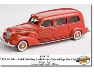 Brooklin Models CSV15 BUICK STERLING AMBULANCE 1938 1/43 Modellino