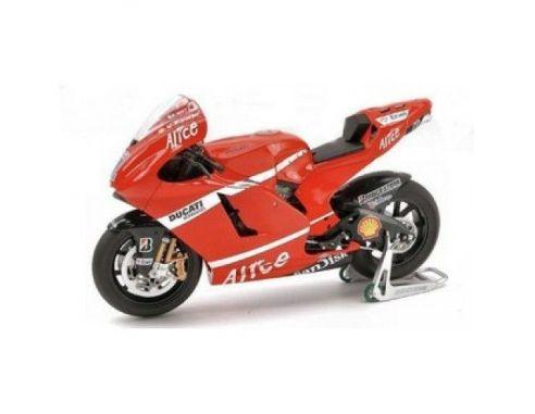 Cararama Motorama 492174 DUCATI STONER 1/16 MOTO GP 2007 Modellino