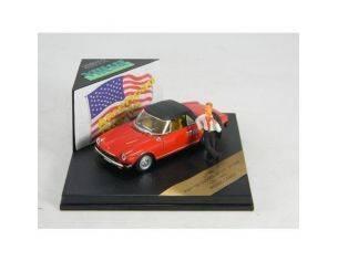 Ed.lim.mini Miniera ROM01 FIAT 124 SPORT SPIDER AMERICAN GIGOL Modellino