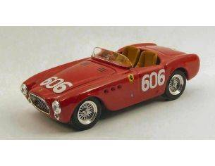 Art Model AM0252 FERRARI 225s N.606 RETIRED MILLE MIGLIA 1952 BORNIGIA-BORNIGIA 1:43 Modellino