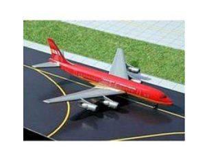 Schuco 3557434 DC-8-51 BRANIFF RED 1/400 Modellino
