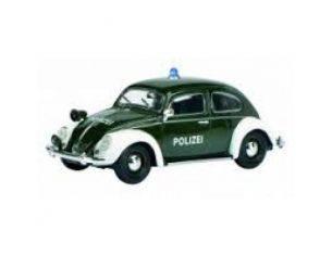Schuco 7737 VW KAFER POLIZEI 1/32 Modellino