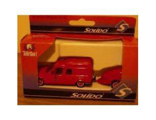Solido 2130 EXPRESS POMPIERI + TRAILER 1/50 Modellino