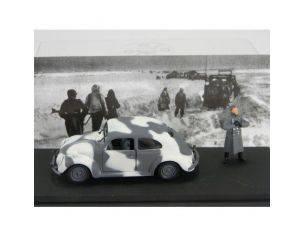 U.A.N. 205 VW WEHRMACHT WINTER +CARMOUFLAG 1/43 Modellino