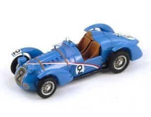 Spark Model S2726 DELAHAYE 145 N.2 40th LM 1938 G.COMOTTI-A-DIVO 1:43 Modellino
