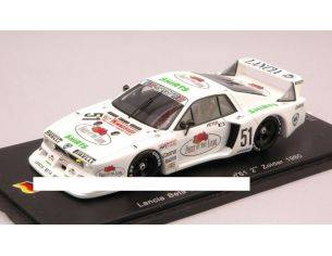 Spark Model SG020 LANCIA BETA MONTECARLO N.51 2nd ZOLDER 1980 H.HEYER 1:43 Modellino