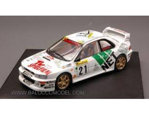 Trofeu TF1106 SUBARU IMPREZA N.21 8th M.CARLO 1988 KREMER-WICHA W/NIGHT LIGHTS 1:43 Modellino