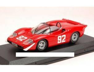 Best Model BT9545 ABARTH 2000S N.92 WINNER CAMP.EUROPEO MONTAGNA 1969 A.MERZARIO 1:43 Modellino