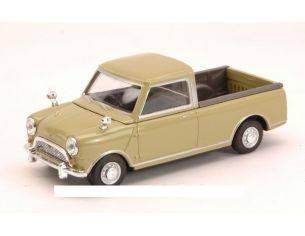 Cararama Motorama CA15740 MINI COOPER PICK UP 1961 OLIVE GREEN 1:43 Modellino