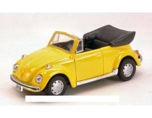 Cararama Motorama CA10690 VW BEETLE 1303 1969 YELLOW 1:43 Modellino