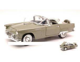 Motormax MTM73176GR FORD THUNDERBIRD HARD TOP 1956 GREEN 1:18 Modellino