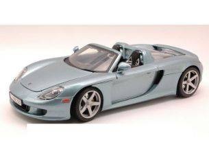 Motormax MTM73163SL PORSCHE CARRERA GT 2000 SILVERBLUE 1:18 Modellino