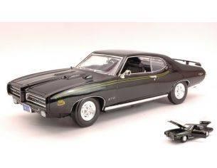 Motormax MTM73133BK PONTIAC GTO JUDGE 1969 BLACK 1:18 Modellino