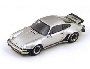 Spark Model S1372 PORSCHE 911 TURBO 3.0 1975 SILVER 1:43 Modellino