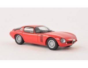 Neo Scale Models NEO43170 ALFA ROMEO CANGURO BERTONE 1964 RED 1:43 Modellino