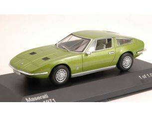 White Box WB084 MASERATI INDY 1971 GREEN METALLIC 1:43 Modellino